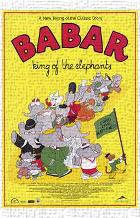 Babar: King of the Elephants art print poster transferred to canvas