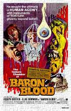 Baron Blood art print poster transferred to canvas