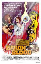 Baron Blood art print poster with laminate