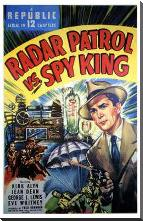 Radar Patrol Vs Spy King art print poster with block mounting