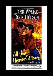 All That Heaven Allows art print poster with simple frame