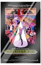 American Pop art print poster with laminate