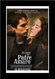 Crimen Del Padre Amaro, El art print poster with simple frame