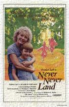 Never Never Land art print poster transferred to canvas