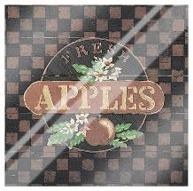 Fresh Apples art print poster with laminate