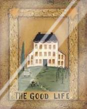 Good Life art print poster with laminate