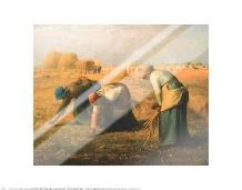 Gleaners art print poster with laminate