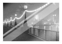 River Thames By Night art print poster with laminate