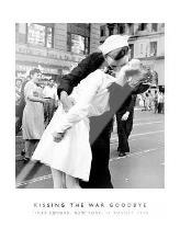 Kissing The War Goodbye art print poster with laminate