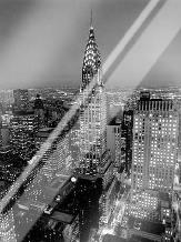 Chrysler Building art print poster with laminate