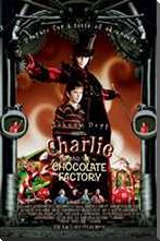 Charlie and the Chocolate Factory art print poster with block mounting