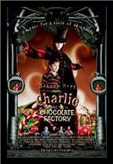 Charlie and the Chocolate Factory art print poster with simple frame