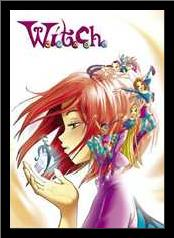 Witch Crystal art print poster with simple frame