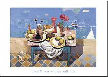 Sestill Life art print poster with block mounting