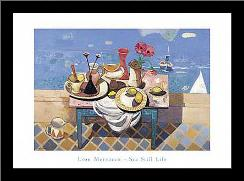 Sestill Life art print poster with simple frame