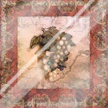 Tuscany Grapes art print poster with laminate