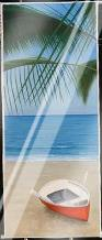 Escape To Paradise I art print poster with laminate