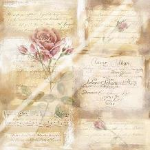 Rose Concerto I art print poster with laminate
