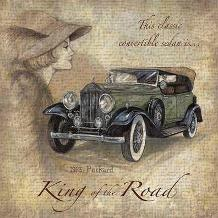 King Of The Road art print poster transferred to canvas