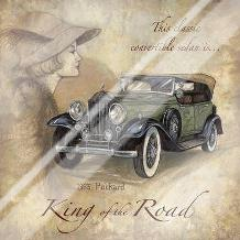 King Of The Road art print poster with laminate