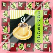 Coffee-Espresso art print poster with laminate