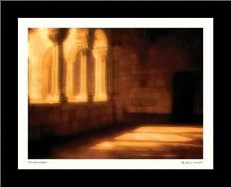 Threads Of Light art print poster with simple frame