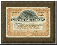 Hubbard Elliot Copper Co art print poster with block mounting