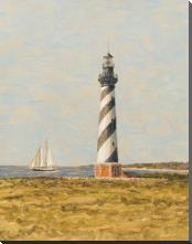 View From The Lighthouse II art print poster with block mounting