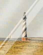 View From The Lighthouse II art print poster with laminate