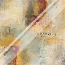 Longevity Scroll art print poster with laminate