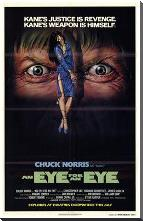 Eye for an Eye, an art print poster with block mounting