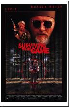 Surviving the Game art print poster with block mounting