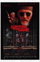 Surviving the Game art print poster transferred to canvas