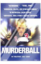 Murderball art print poster with laminate