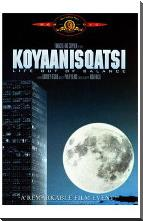 Koyaanisqatsi art print poster with block mounting
