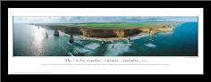 The Twelve Apostles - series 2 art print poster with simple frame