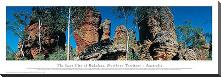 The Lost City of Bukalara, Northern Territory - Australia art print poster with block mounting