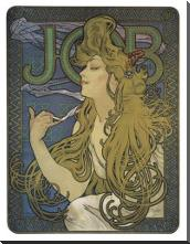 Job 1897 art print poster with block mounting