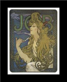 Job 1897 art print poster with simple frame