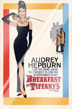 Audrey Hepburn - Breakfast At Tiffanys art print poster with laminate