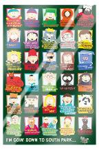 South Park Quotes art print poster with laminate