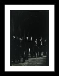 Canterbury Boys art print poster with simple frame