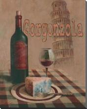 Gorgonzola - Pisa art print poster with block mounting