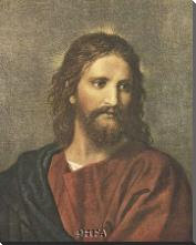 Christ At Thirty-Three art print poster with block mounting