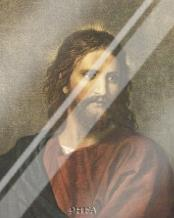 Christ At Thirty-Three art print poster with laminate