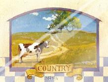 Country art print poster with laminate