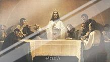 Last Supper art print poster with laminate