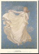 Breeze, 1895 art print poster with block mounting