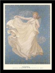 Breeze, 1895 art print poster with simple frame