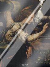 Angel (Detail From The Annunciation) art print poster with laminate